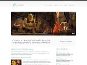 WordPress website template Creation Style2
