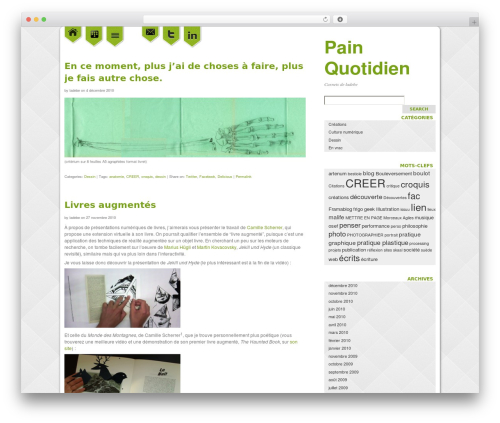 WP theme neni - blog.ladebe.com