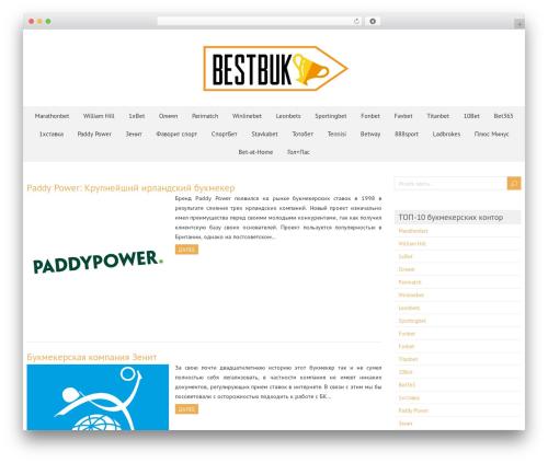 ForeverWood WordPress template free - bestbuk.com