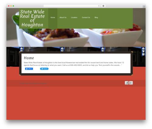 Go Daddy Mark I real estate template WordPress - buymilands.com