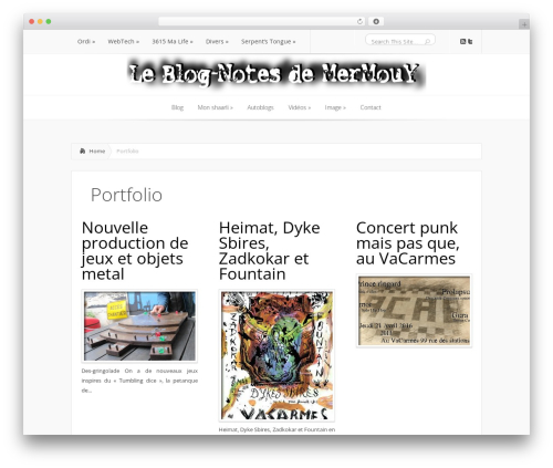Lucid WordPress theme - blog.youm.org