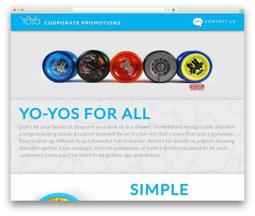 Satellite7 WordPress theme - brandedyoyos.com