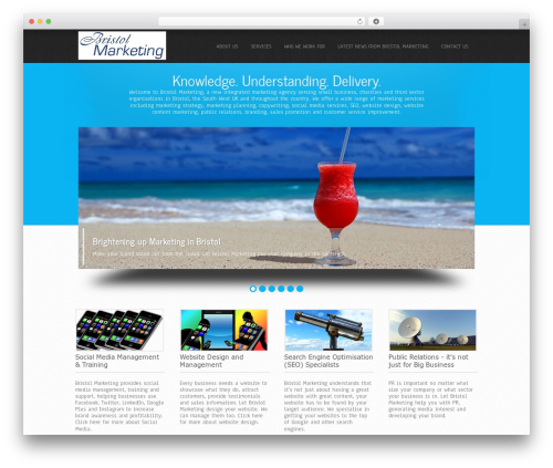 Simplicity Extend template WordPress - bristol-marketing.com