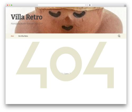 Twenty Thirteen WordPress template free - blogg.villaretro.se