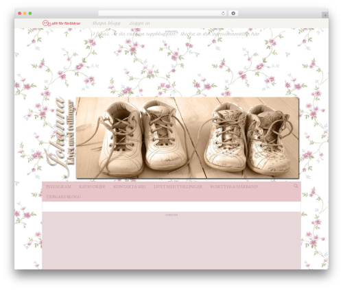 WordPress site-categories plugin - blogg.alltforforaldrar.se/johannamaria