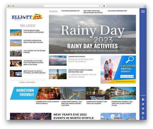 ebr WordPress travel theme - blog.northmyrtlebeachtravel.com