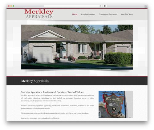 For All real estate template WordPress - brockville-appraisers.com