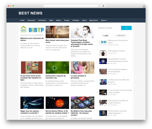 Portal by MyThemeShop WordPress shop theme - bestnews.fr