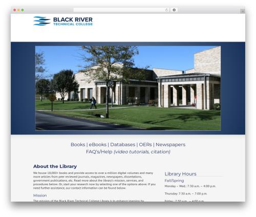 Striking MultiFlex & Ecommerce Responsive WordPress Theme WordPress store theme - blackrivertech.org/black-river-technical-college-library