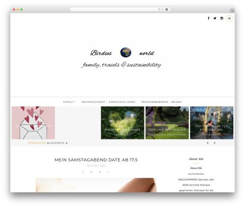 The Tea Cup WordPress theme - birdiesworld.at