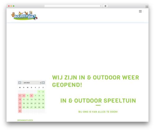 Themify Ultra WordPress template - boerderijpret.nl