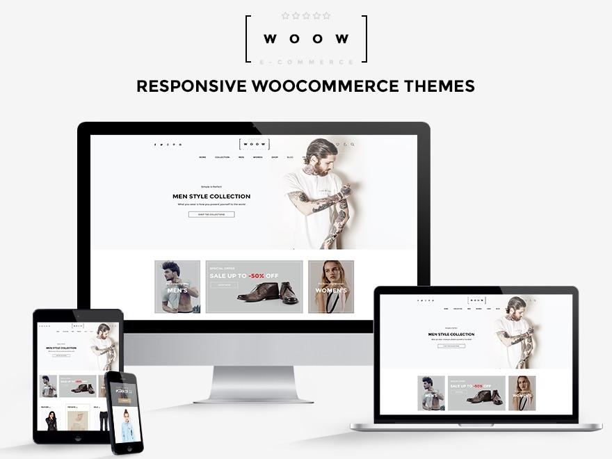 WOOW Child WordPress ecommerce template