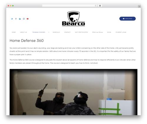 WordPress wp-subscribe-pro plugin - bearcotraining.com/training-courses/home-defense-360