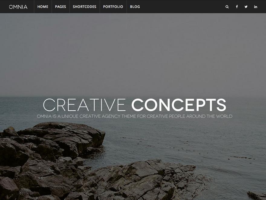 WP Omnia WordPress news theme