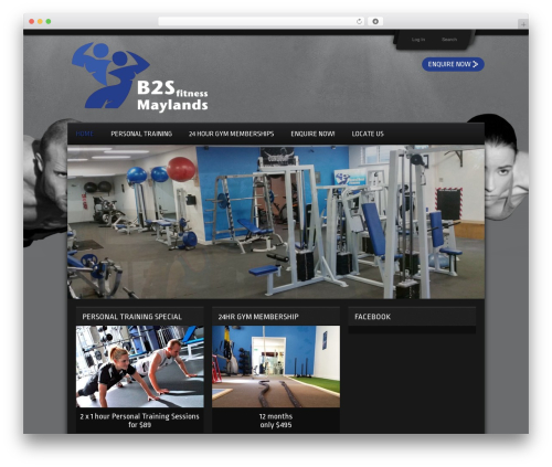 WP template Gym Extreme Theme - body2soulfitness.com