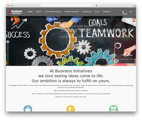 WPLMS WP theme - businessinitiatives.com