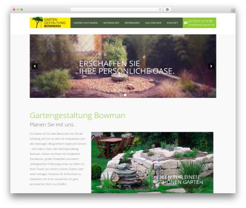 Free WordPress WP-Smooth-Scroll plugin - bowman-garten.de