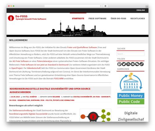 Formation free WP theme - blog.do-foss.de