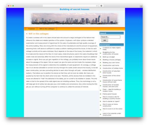 Jakarta premium WordPress theme - blagovm.ru