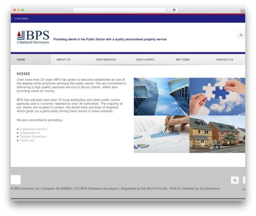 Output | Responsive Multi-Purpose WP Theme WordPress website template - bps-surveyors.co.uk