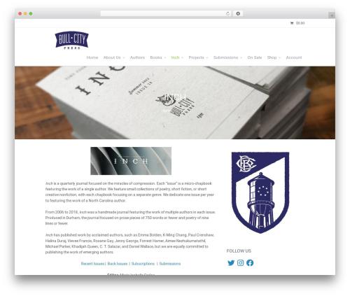 Theme WordPress Allegiant Pro - bullcitypress.com/inch