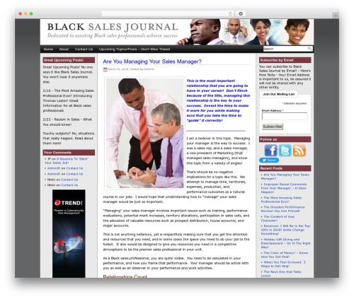 WP template Eximius - blacksalesjournal.net