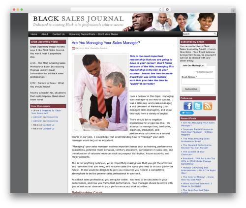 WP template Eximius - blacksalesjournal.com