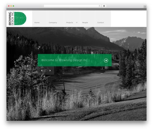 Arch premium WordPress theme - browningdesign.ca