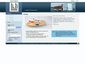 BB_bat WordPress website template