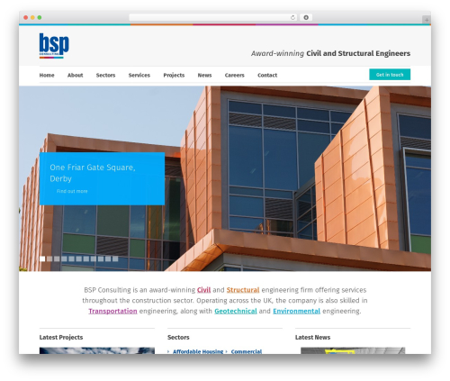BSP WP theme - bsp-consulting.co.uk