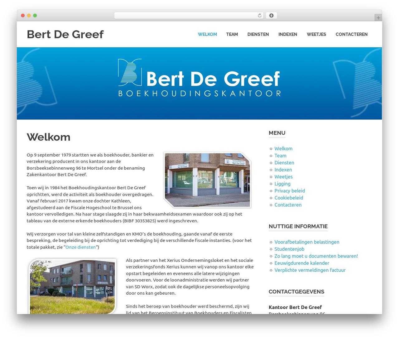 Poseidon WordPress theme free download - bertdegreef.be