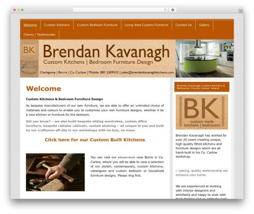 Smartline best WordPress theme - brendankavanaghkitchens.com