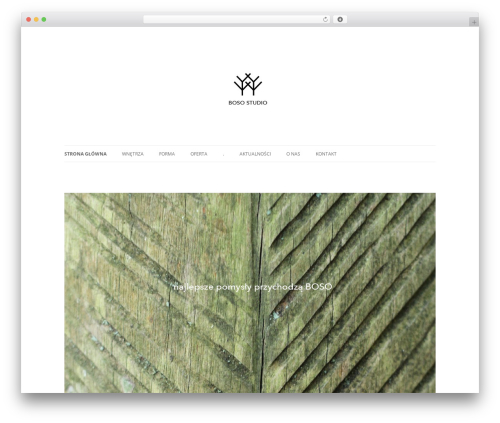Twenty Twelve free WordPress theme - bosostudio.pl