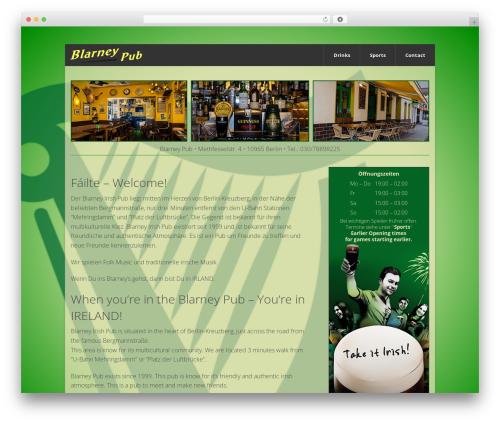WordPress theme WP-Forge - blarney-pub.de