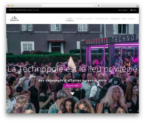 WordPress theme WP Nuvo - brasserie-technopole.com