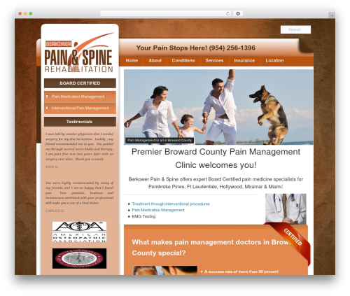 WP template Pain Management Las Vegas - browardcountypainclinics.com