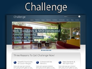 Best WordPress theme Challenge