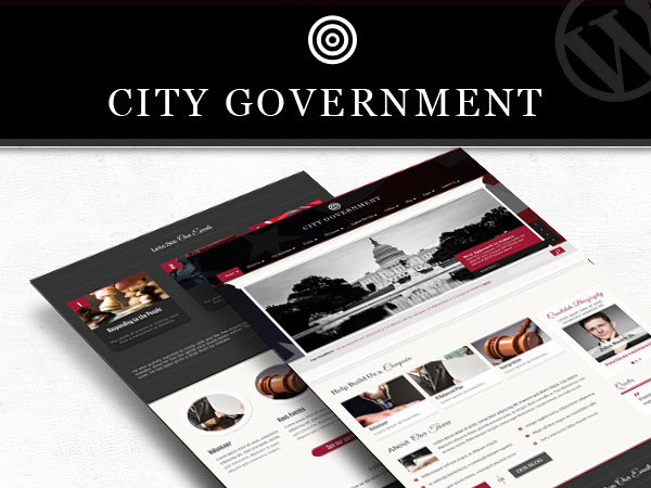 City Government best WordPress template