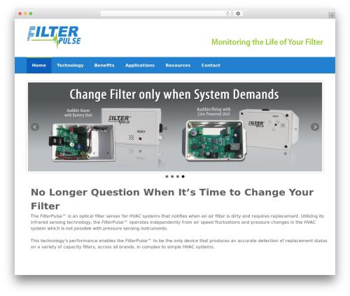 Coller template WordPress free - filterpulse.com