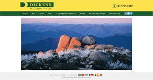 Dickens Real Estate WordPress real estate
