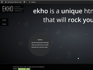 Ekho WordPress template