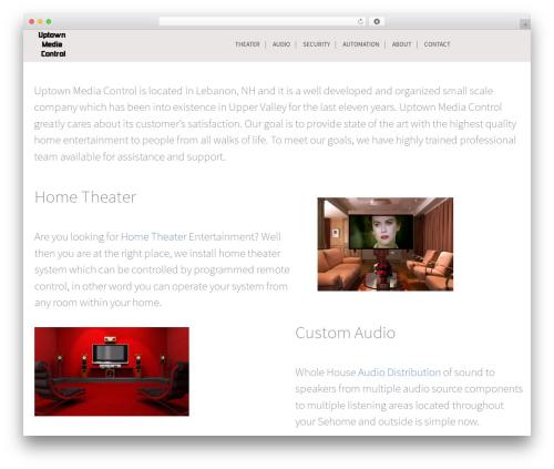 Epsilon best WordPress template - uptownav.net
