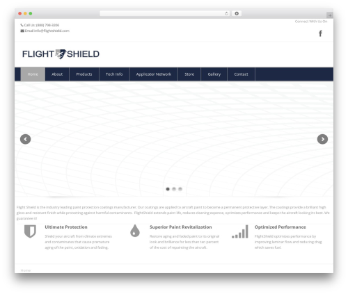 Eross best WordPress theme - flightshield.com