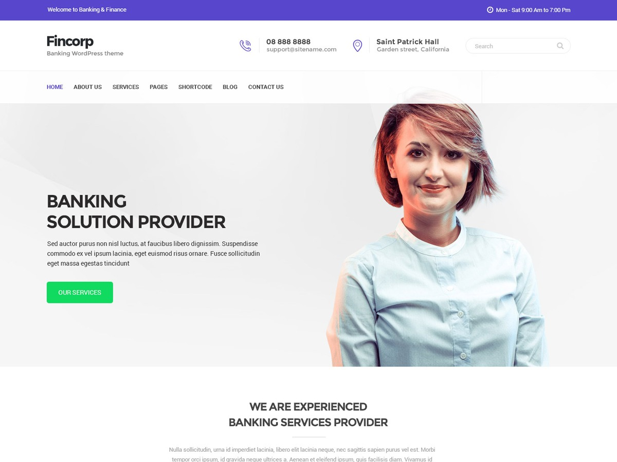 Fincorp theme free download