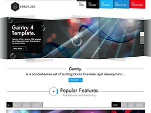 Fracture best WordPress template
