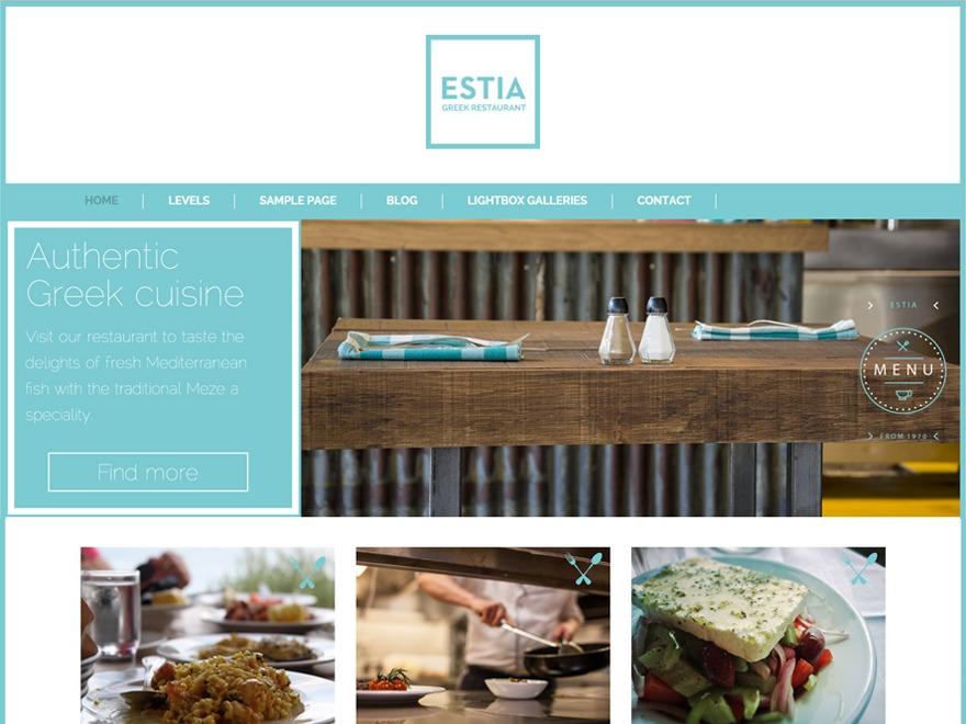 Greek Restaurant best restaurant WordPress theme