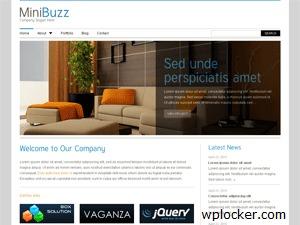 MiniBuzz3 personal WordPress theme