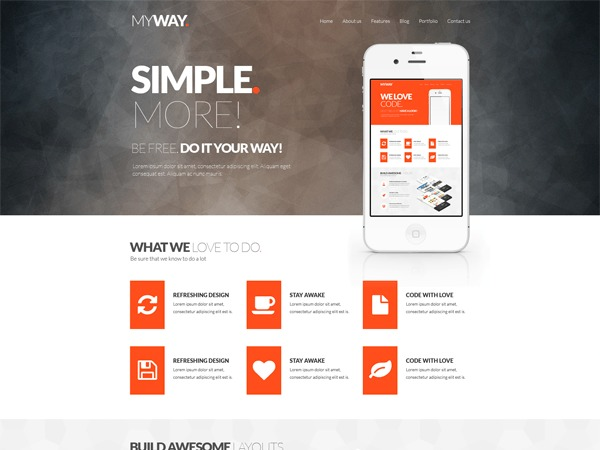 MyWay premium WordPress theme