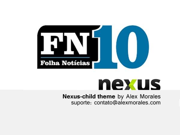 Nexus Child Theme WordPress theme