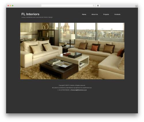Photography PRO WordPress photo theme - flinteriors.co.uk